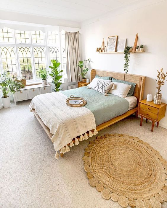 Vintage Scandinavian bedroom interior design ideas
