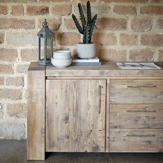 Having old wooden furniture materials