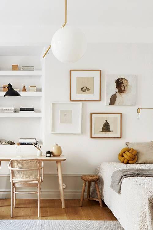 Scandinavian style beautiful elements