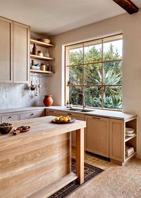 Wooden rustic kitchen style ideas