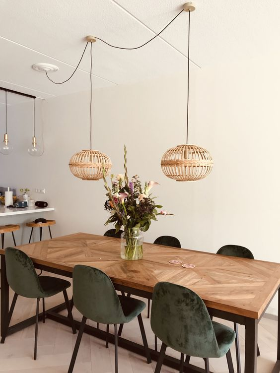 Cafe concept rustic dining room