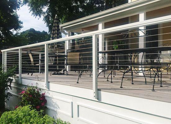 Aluminum balcony railing materials