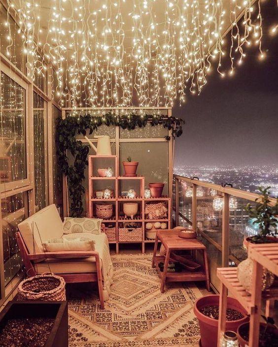 Elegant outdoor balcony decor ideas