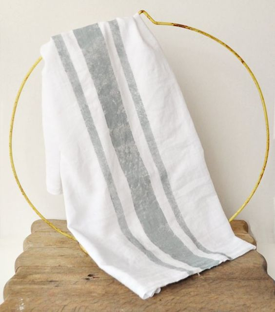 Flour sack dish towels fabric