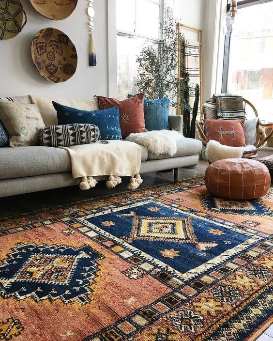 Bohemian carpets