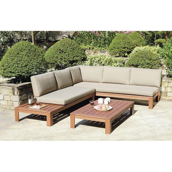 Big exterior sofa