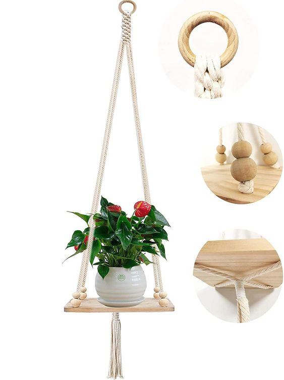Bohemian hanging planter