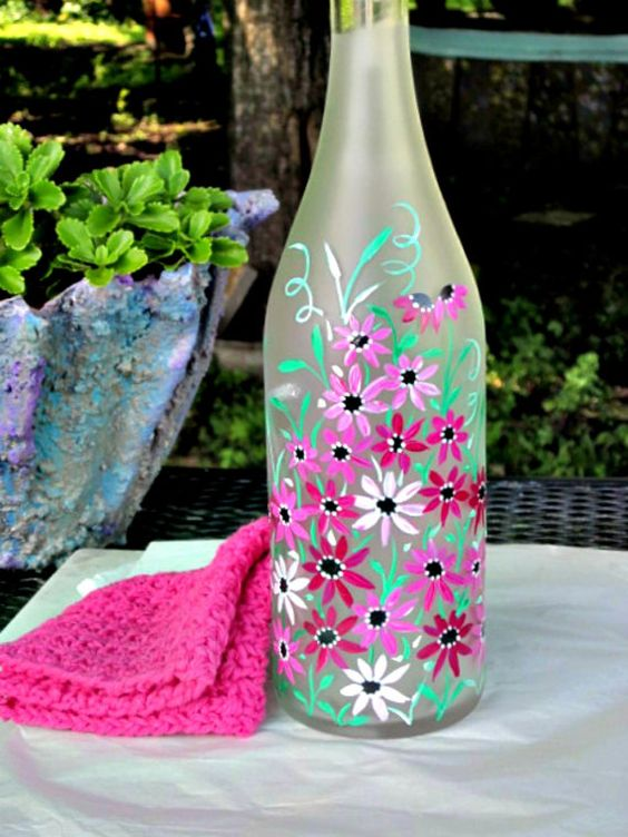 Cute painted bottle